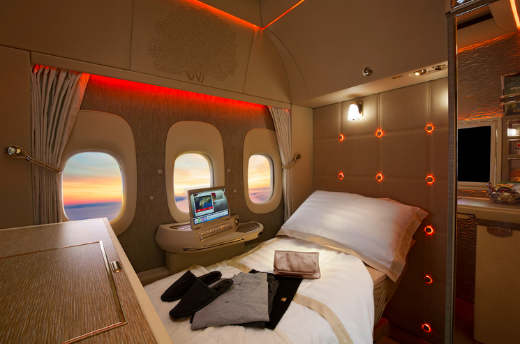 Emirates new First Class Suites