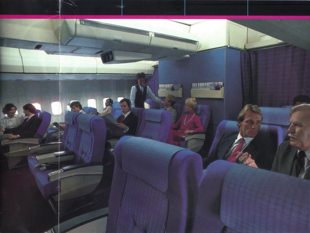 Pan Am First Class (1980s)