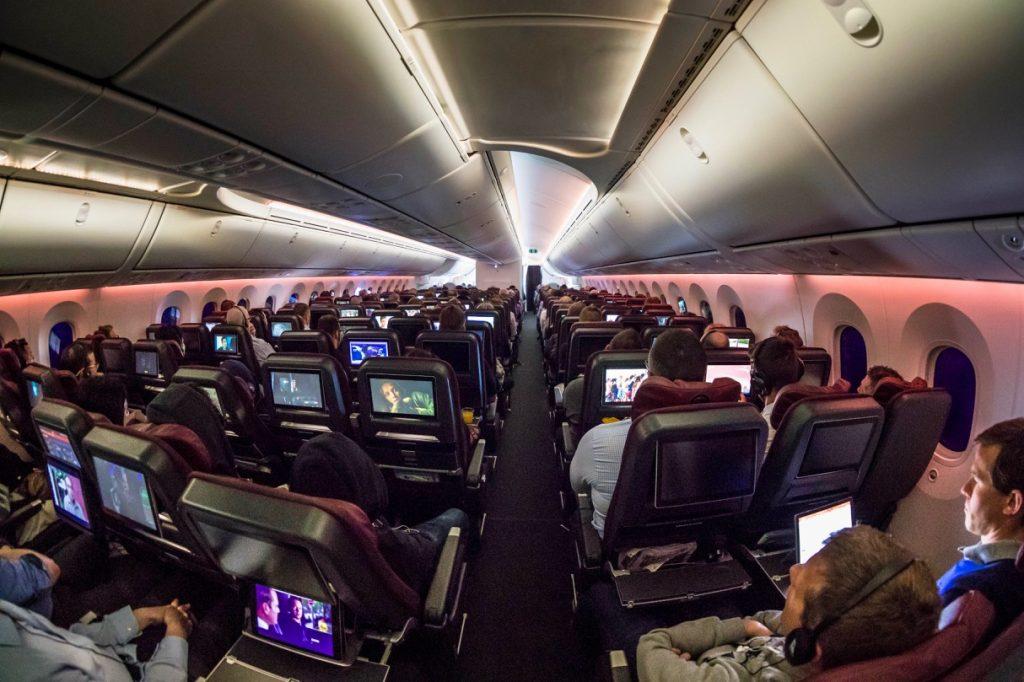 Qantas Boeing 787 Dreamliner Economy Class