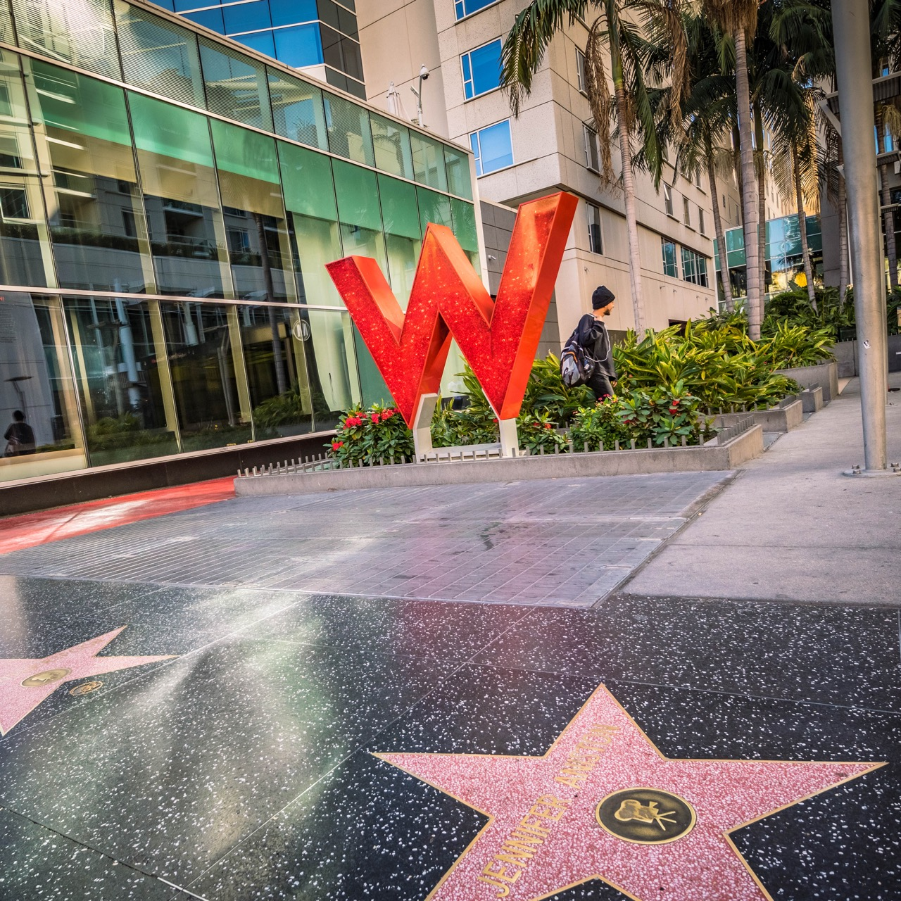 W Hotel Hollywood outside