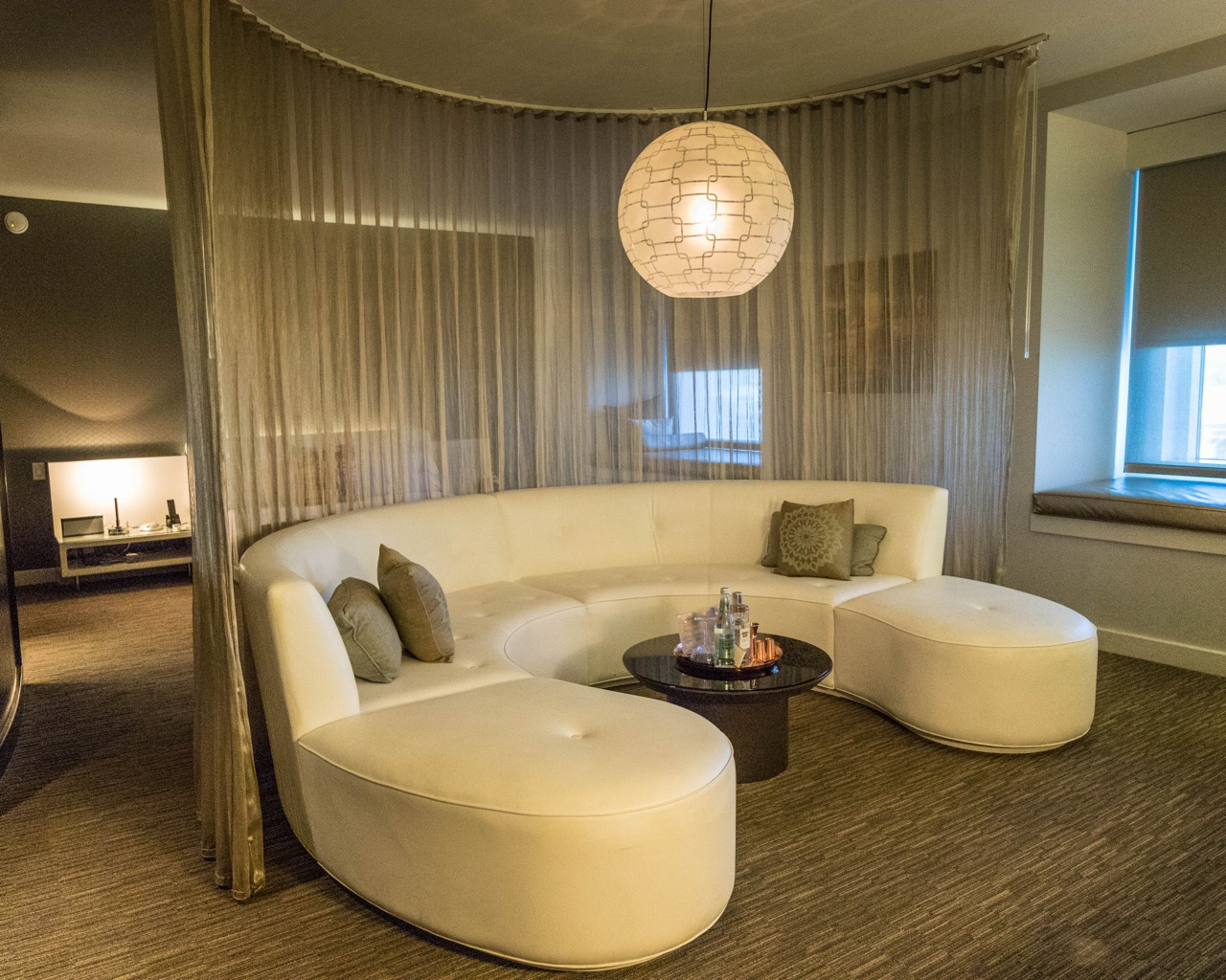 W Hotel Hollywood Marvellous Suite living area