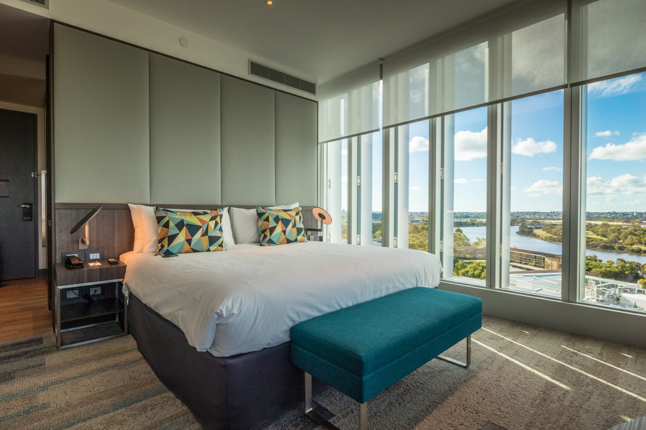 The Aloft Perth room