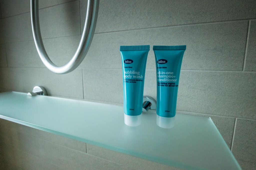 Aloft Perth Corner King Room toiletries