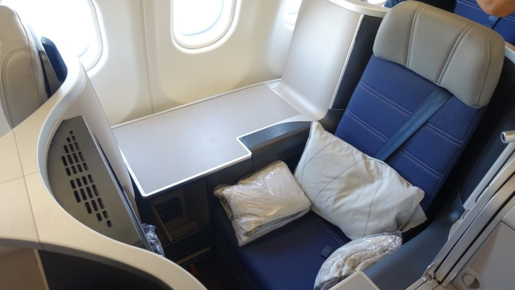 Malaysia Airlines A330 Business Class seat