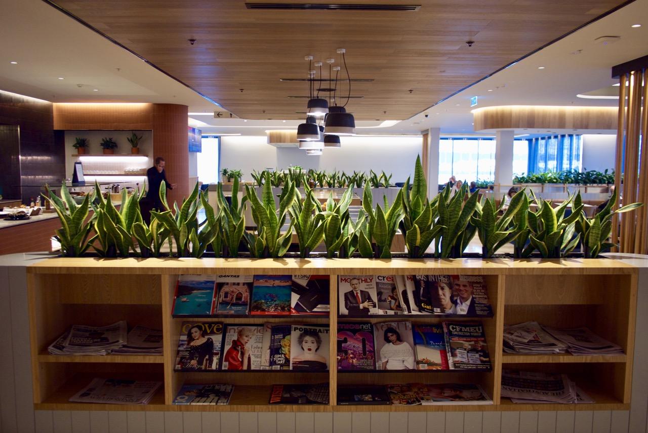 Qantas Business Lounge Perth