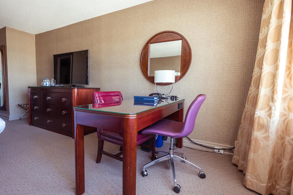 Sheraton Centre Toronto Deluxe Room work desk