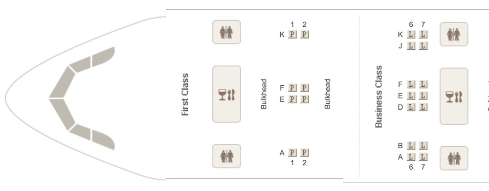 Emirates 777-300ER seatmap