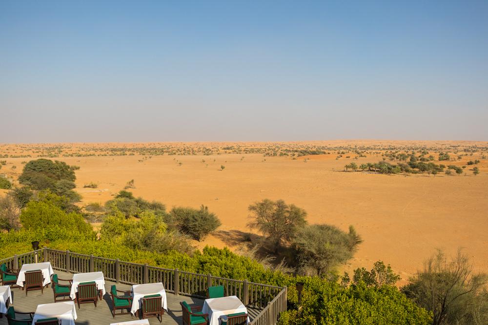 Al Maha, a Luxury Collection Desert Resort & Spa, Dubai balcony view