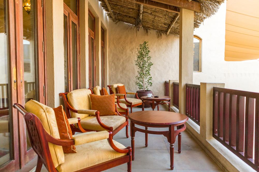 Al Maha, a Luxury Collection Desert Resort & Spa, Dubai balcony