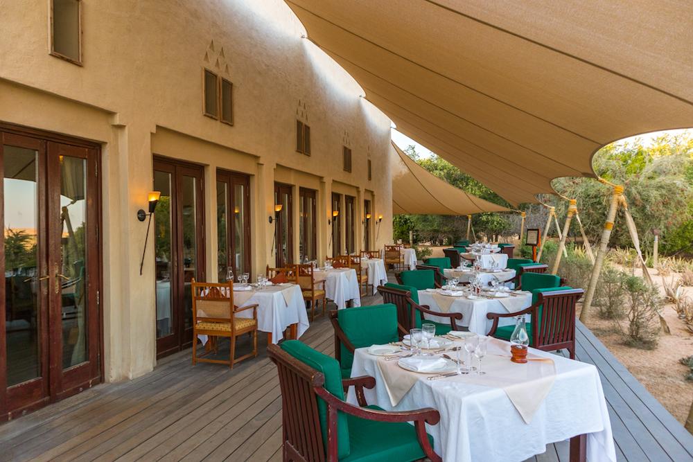 Al Maha, a Luxury Collection Desert Resort & Spa Al Diwaan restaurant