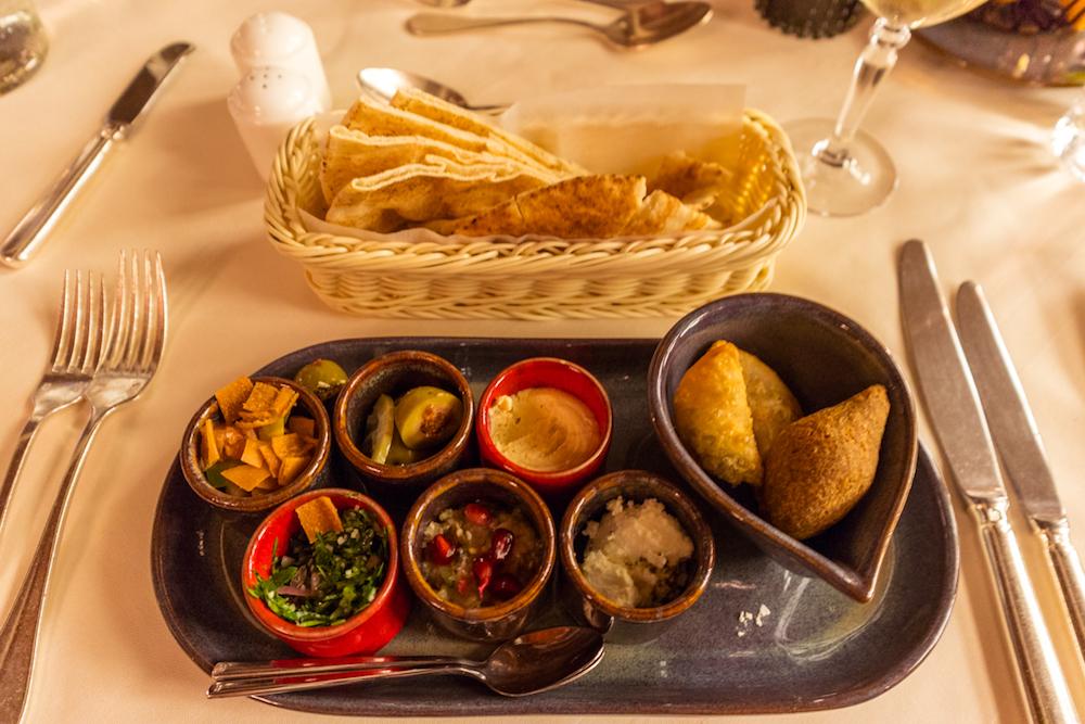 Al Maha, a Luxury Collection Desert Resort & Spa Al Diwaan food