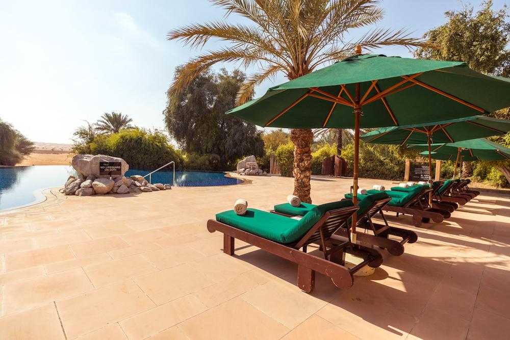 Al Maha, a Luxury Collection Desert Resort & Spa, Dubai main pool