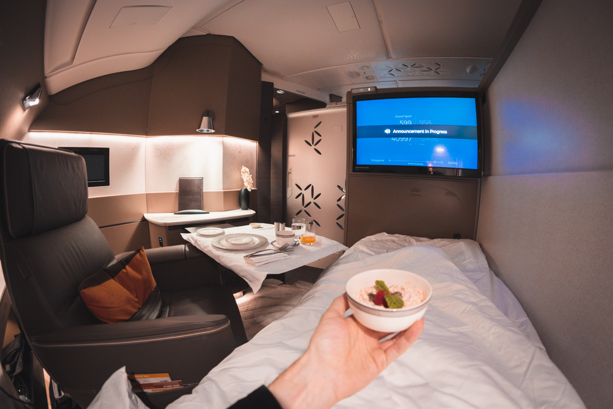 Singapore Airlines A380 First Class