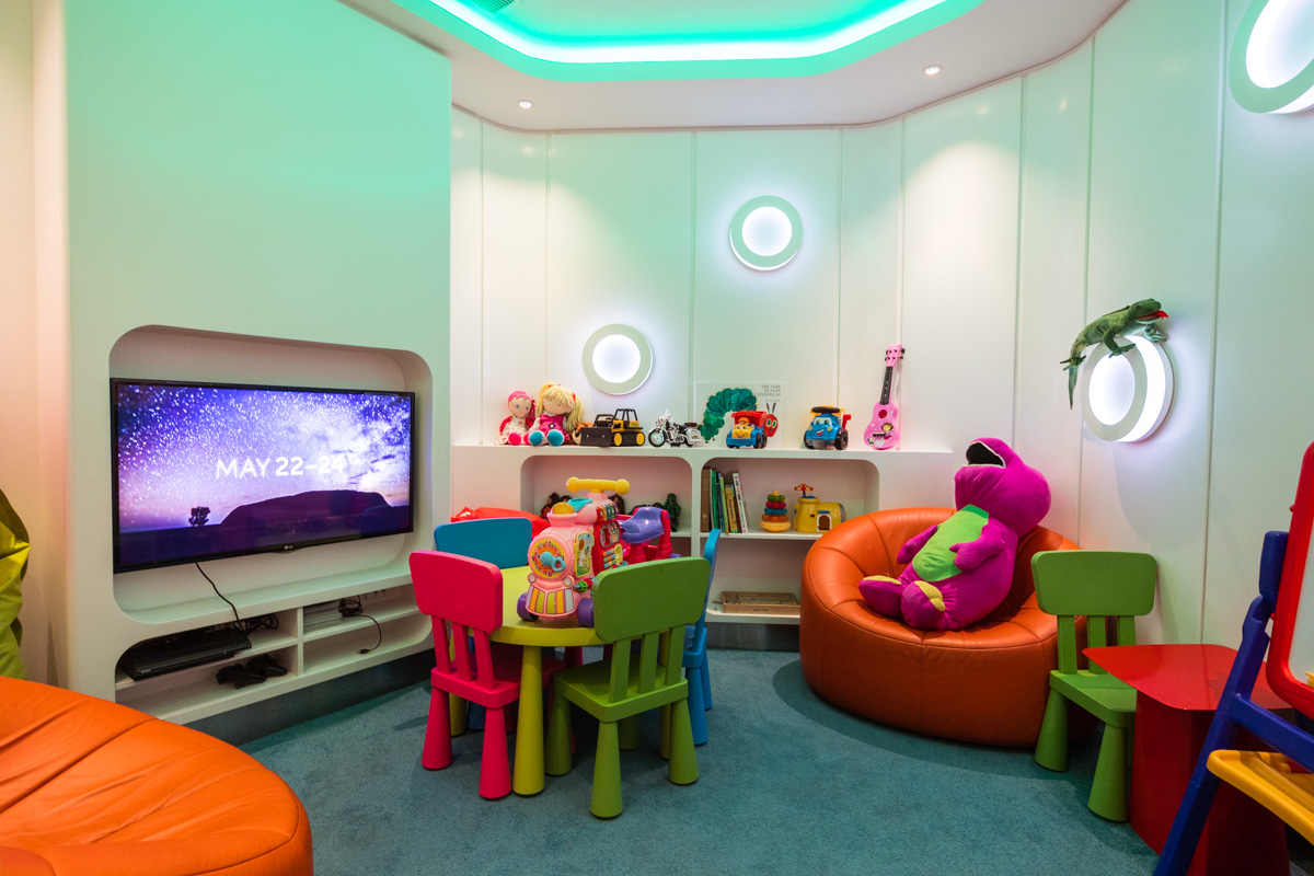 The House Sydney lounge children's playroom