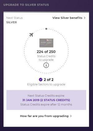 Status credits
