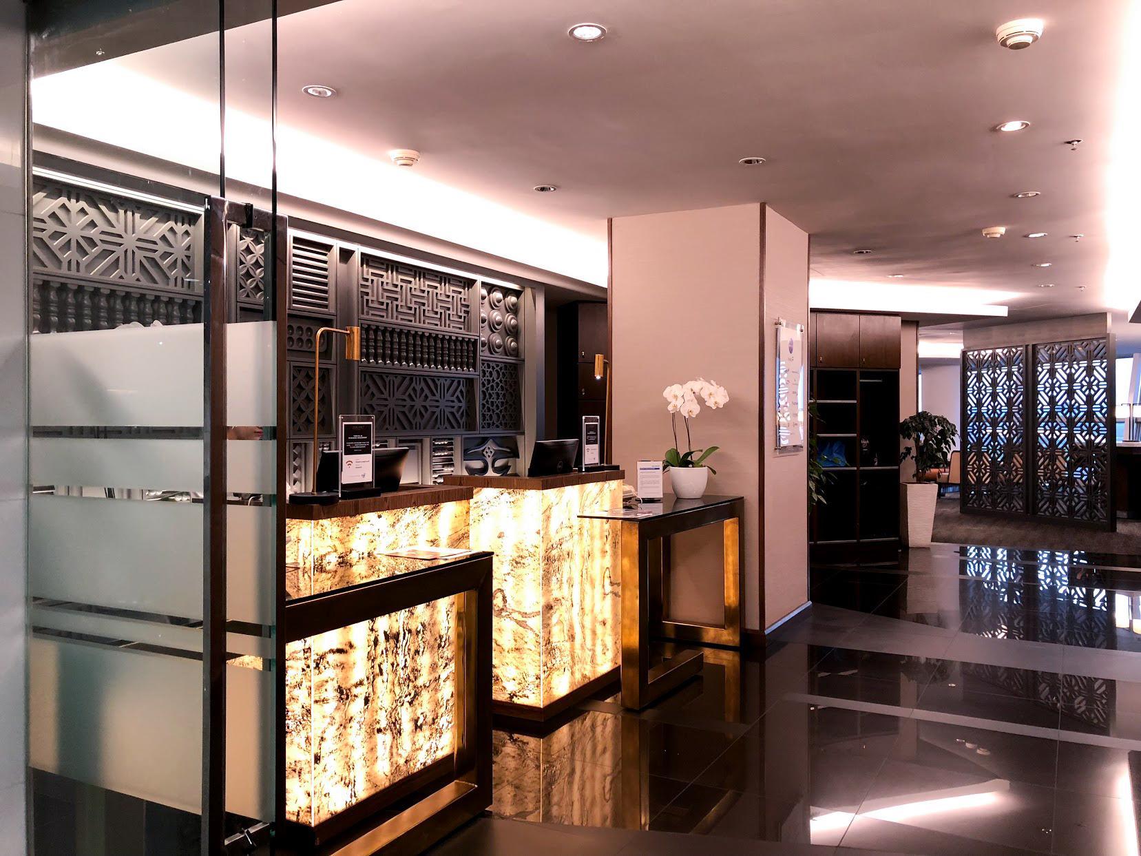 Malaysia Airlines Domestic Golden Lounge Kuala Lumpur