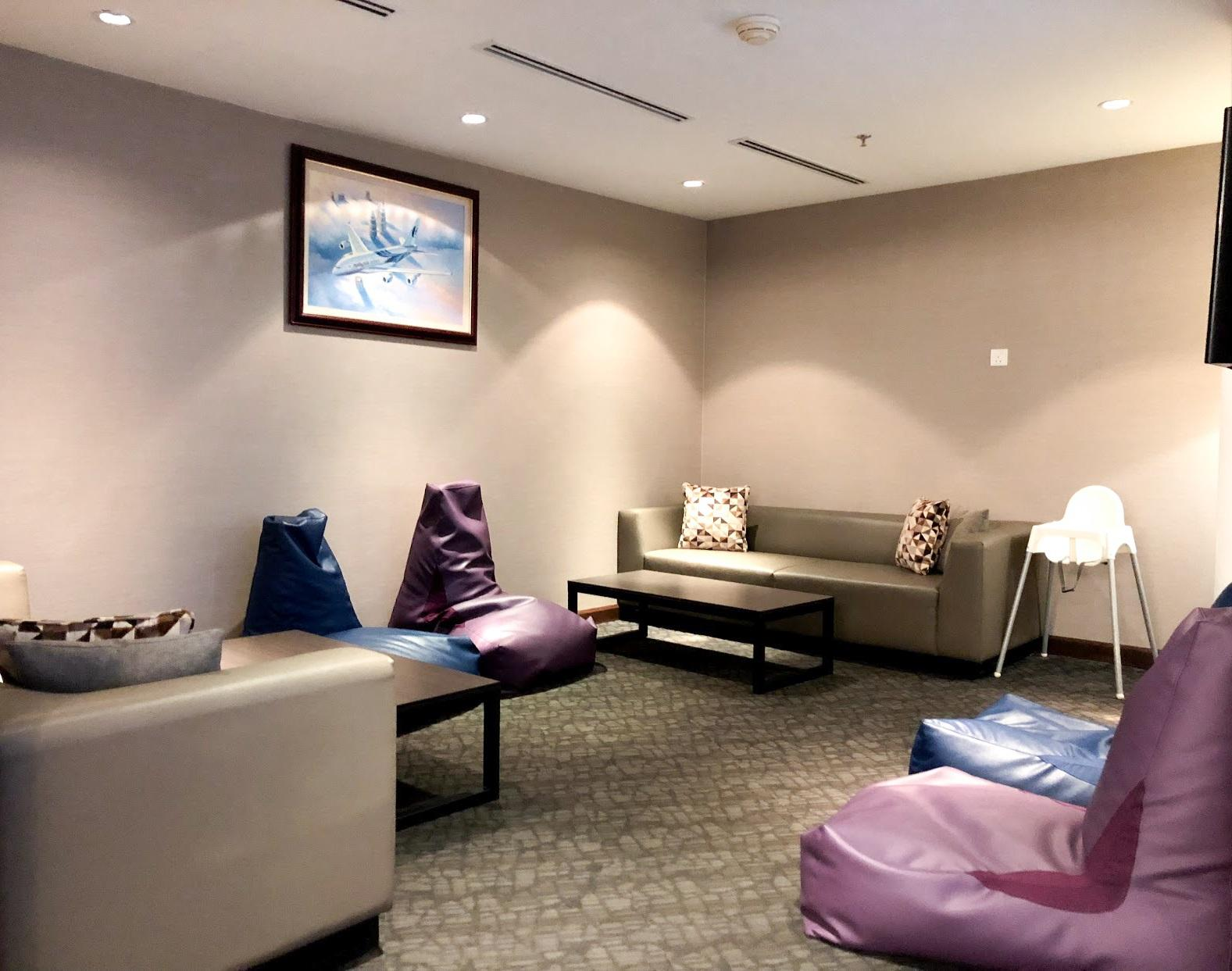 Malaysia Airlines Domestic Golden Lounge Kuala Lumpur family room