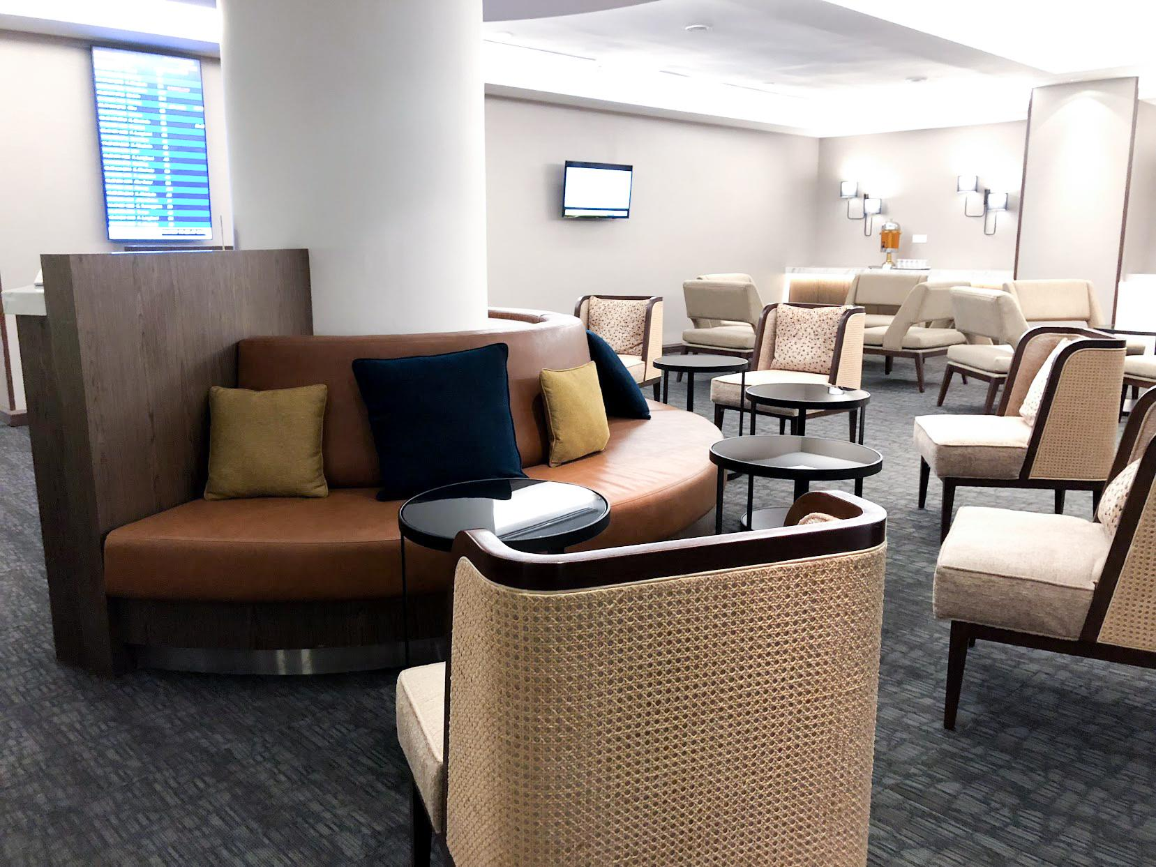 Malaysia Airlines Domestic Golden Lounge Kuala Lumpur seating area