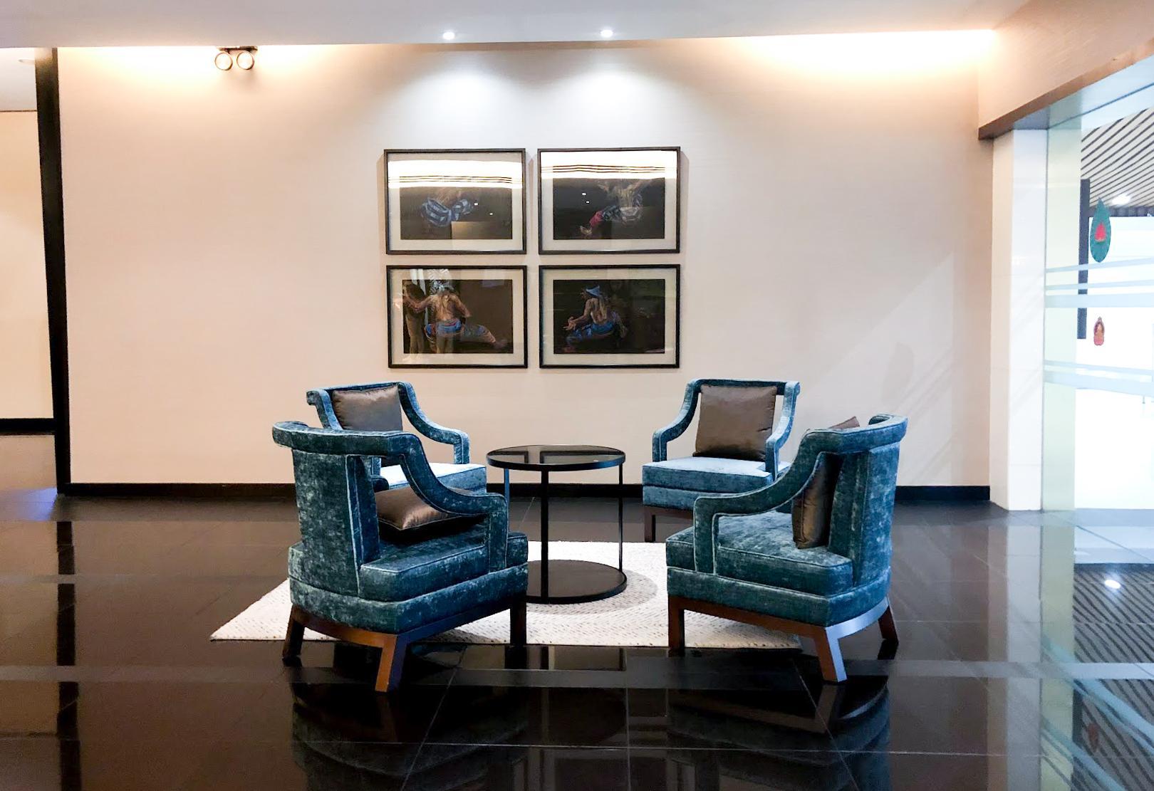 Malaysia Airlines Satellite Golden Lounge Kuala Lumpur waiting area