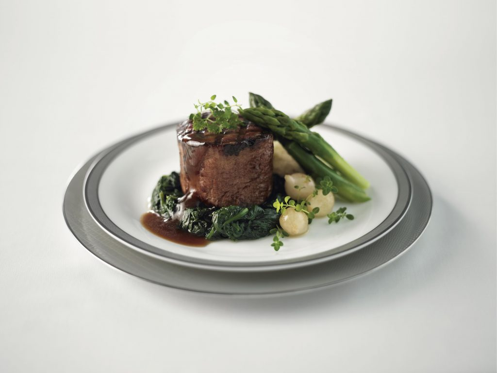 Singapore Airlines beef fillet official
