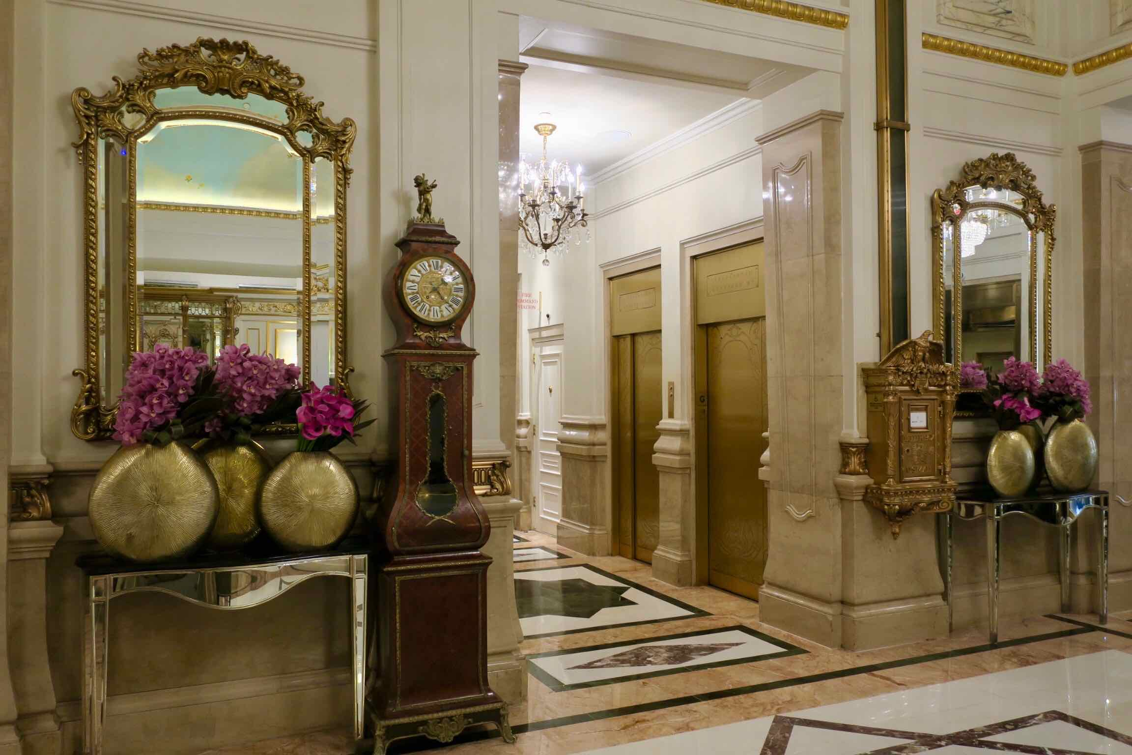 The St. Regis New York elevator
