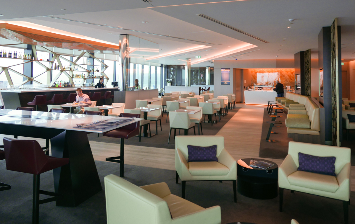 The House (formerly Etihad First & Business Class Lounge)