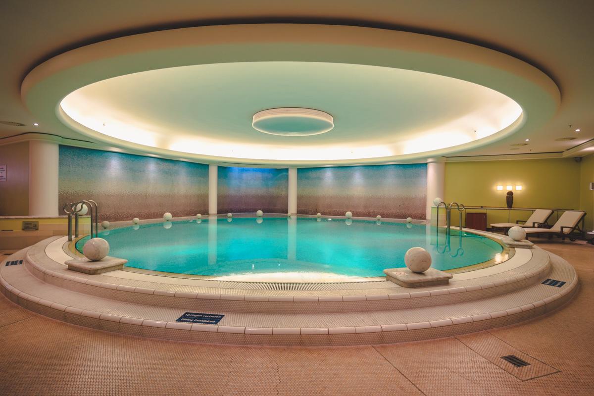 The Westin Berlin heated pool