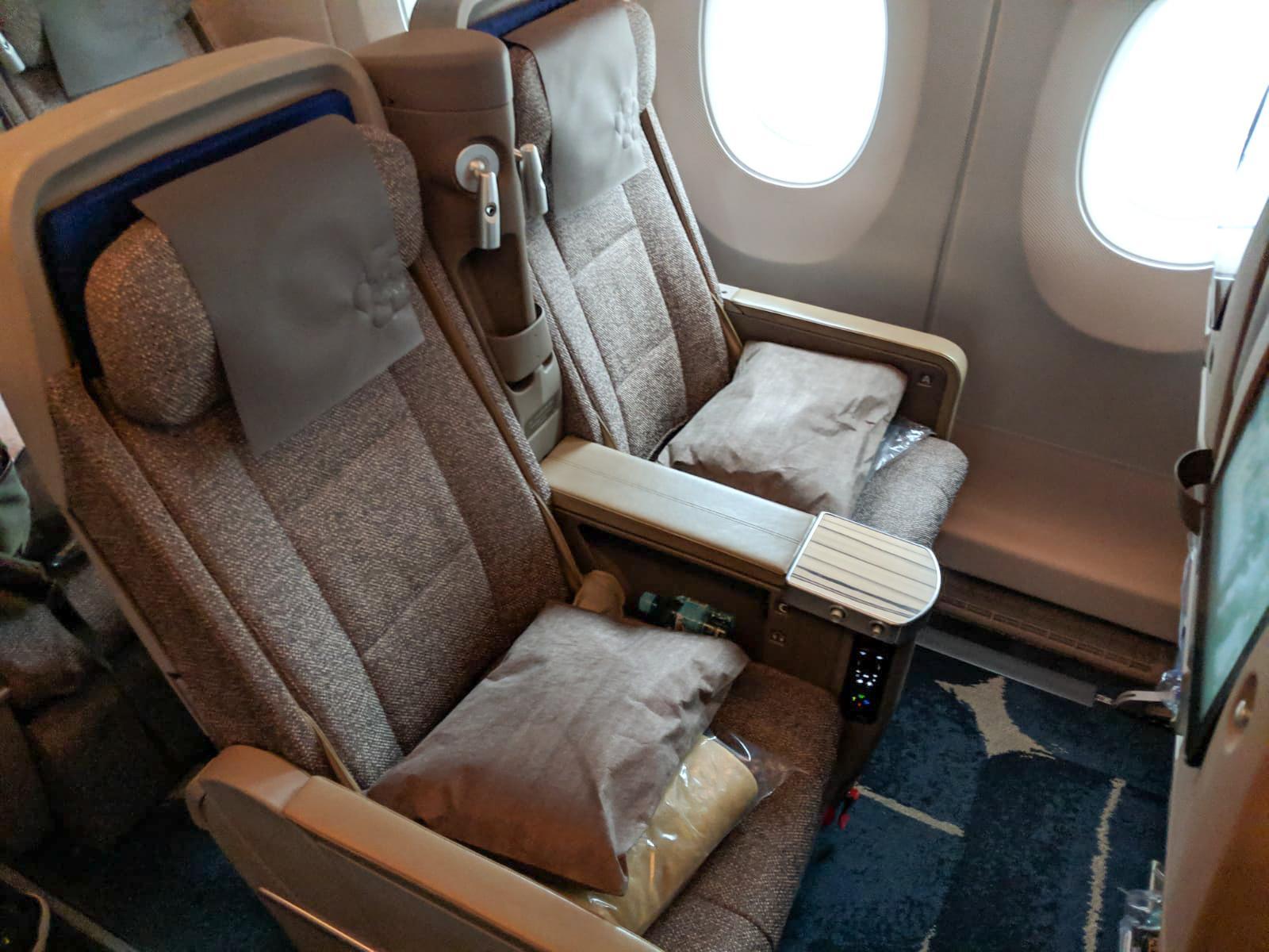 China Airlines Premium Economy seat