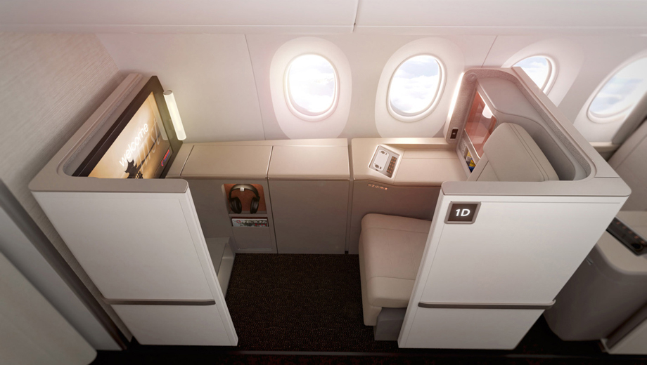 China Eastern 787 Business Class