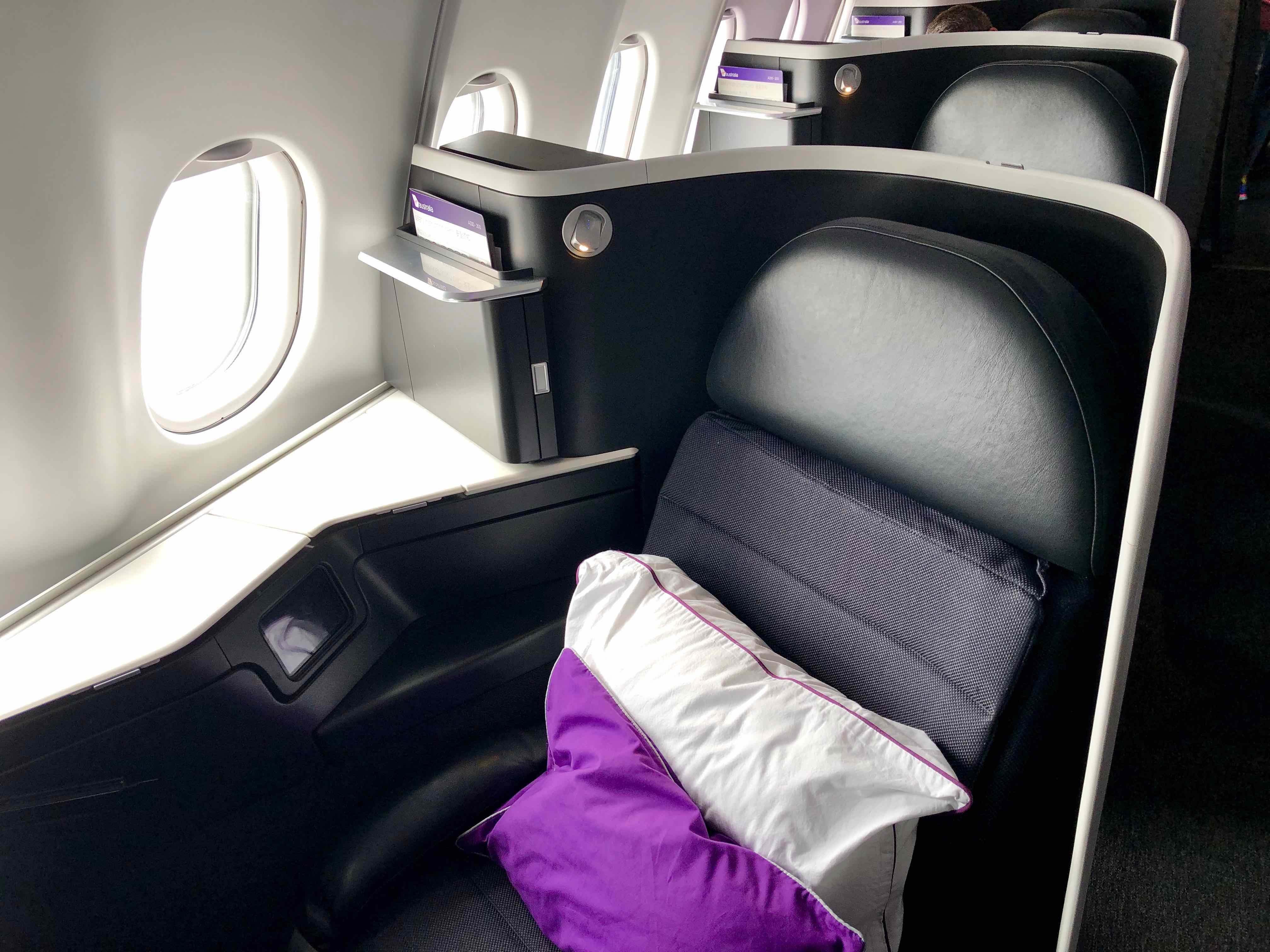 Virgin Australia A330 Business Class seat