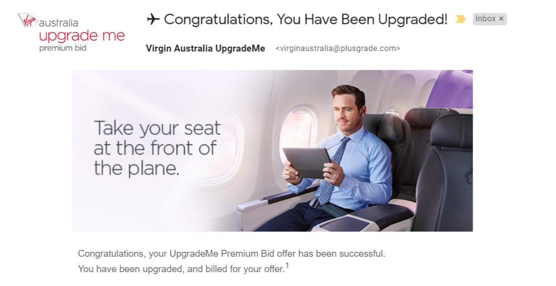 Virgin Upgrade | Point Hacks