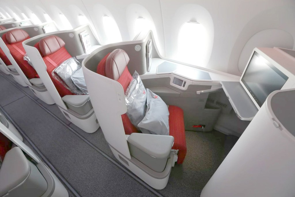 Hong Kong Airlines New A350 Business Class seat