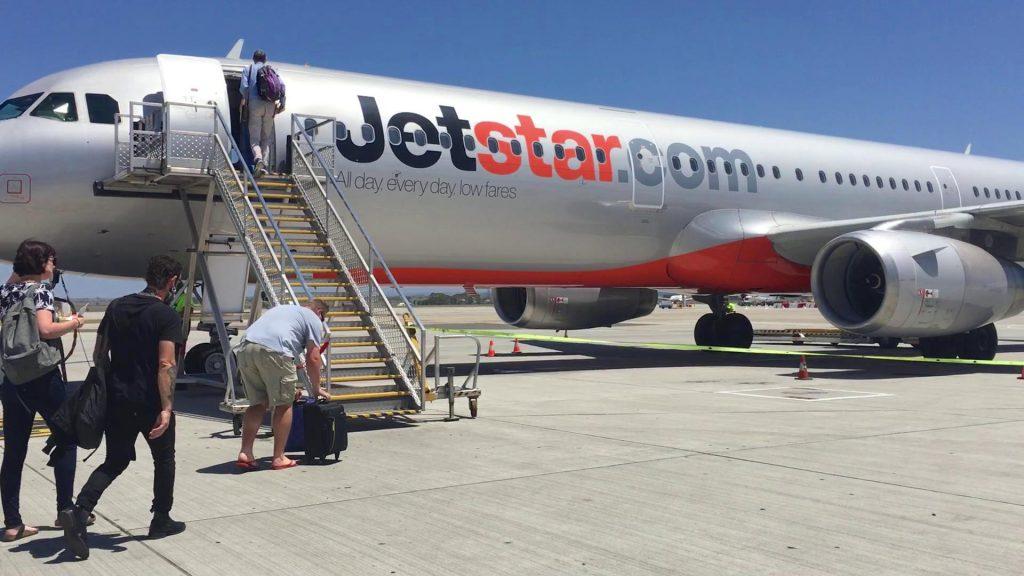 Jetstar A321 exterior shot