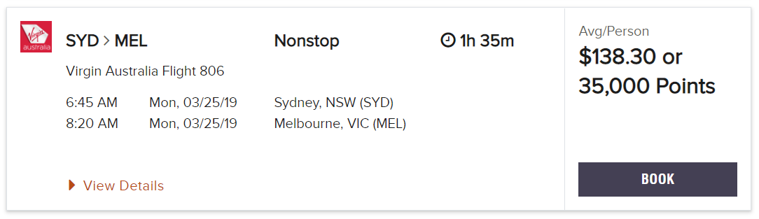 Using Marriott Points to book flights