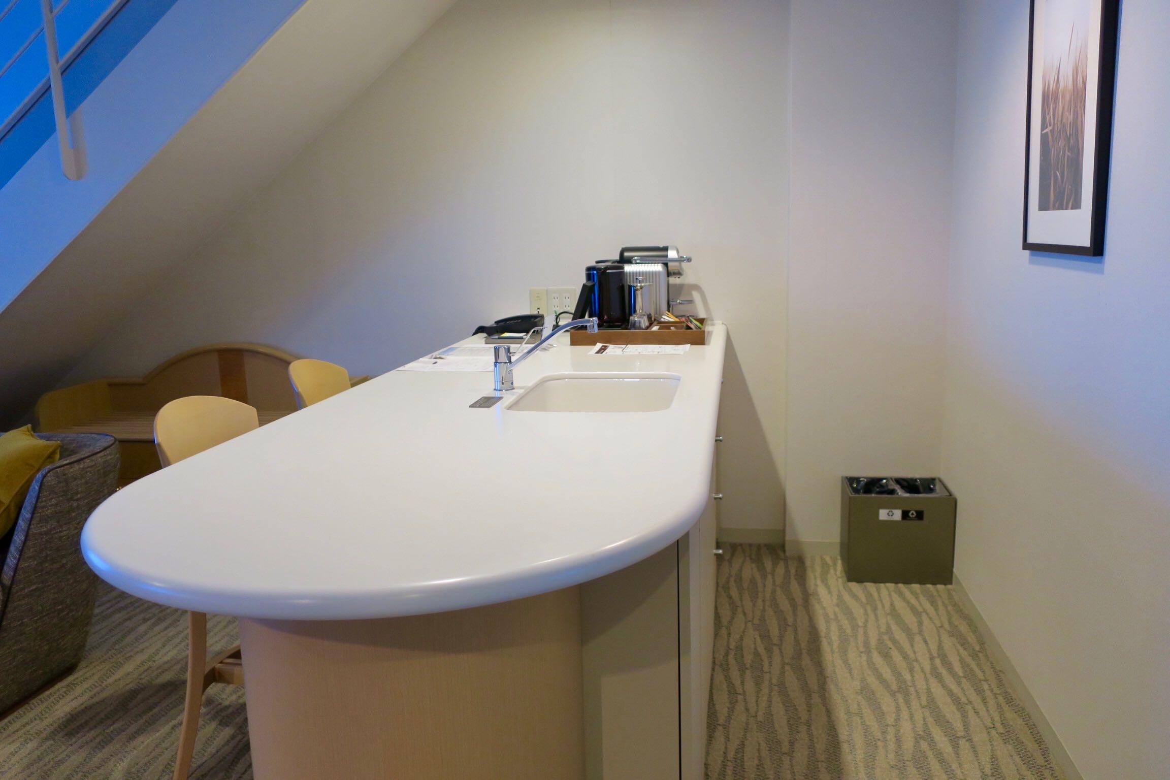 The Westin Rusutsu Resort Suite Room kitchen