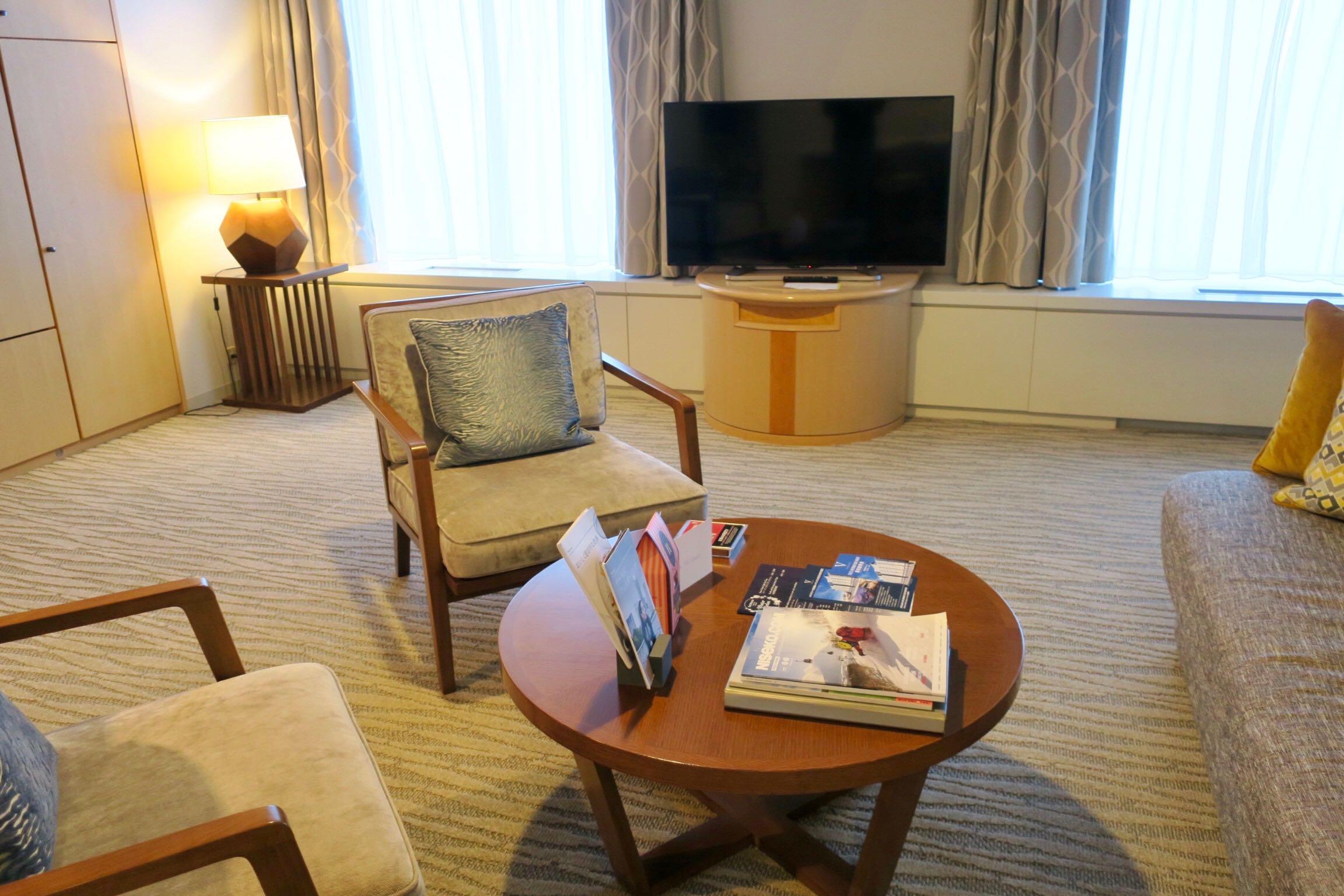 The Westin Rusutsu Resort Suite Room living area
