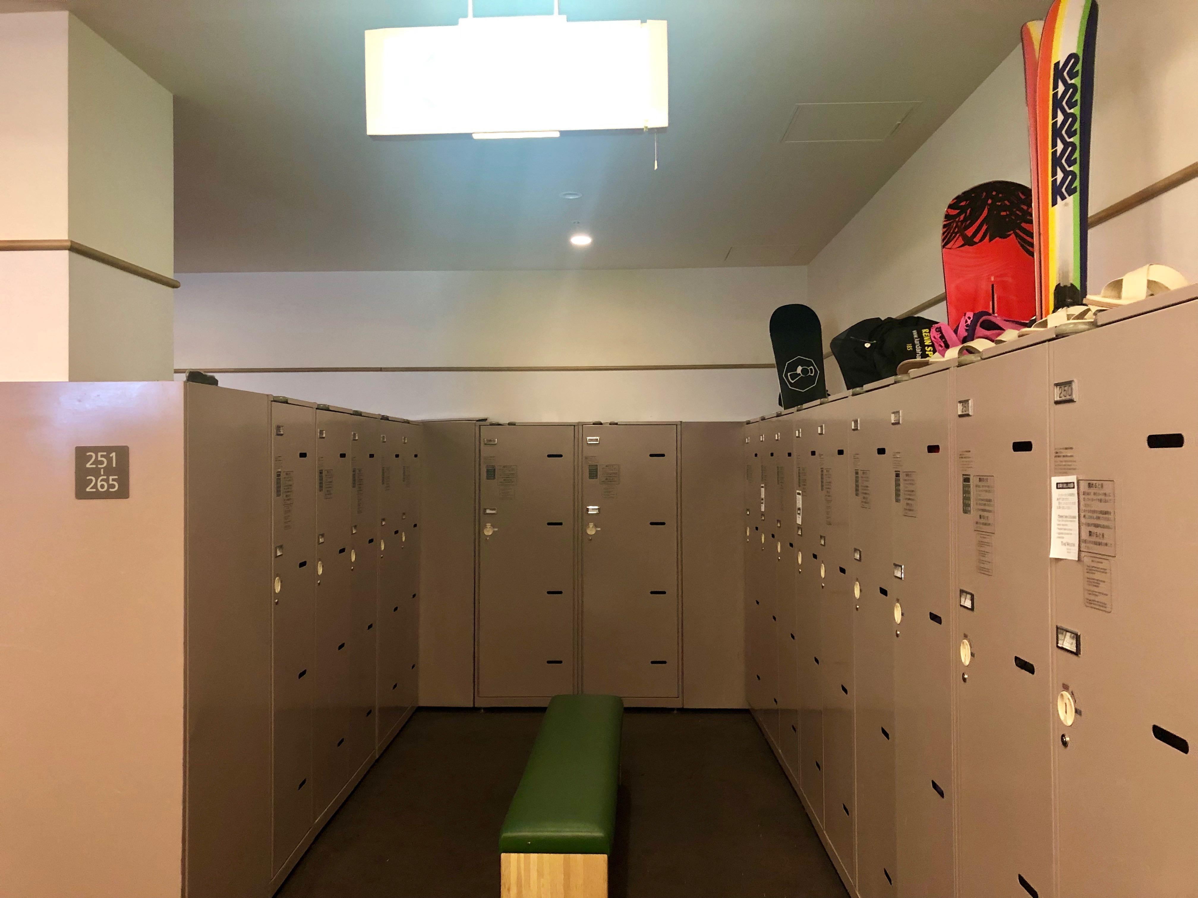The Westin Rusutsu Resort locker