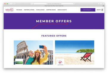 Register to earn double Status Credits on most new bookings with Virgin Australia