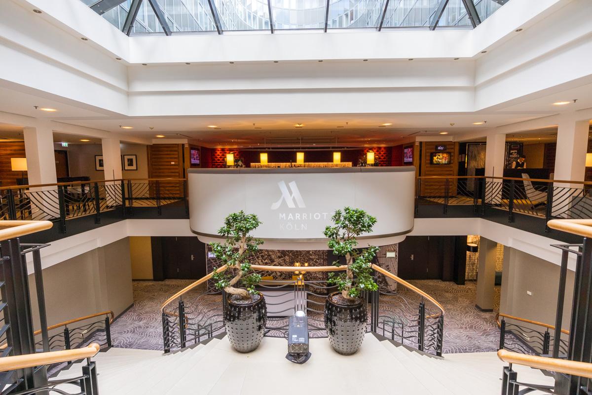 Cologne Marriott - Lobby