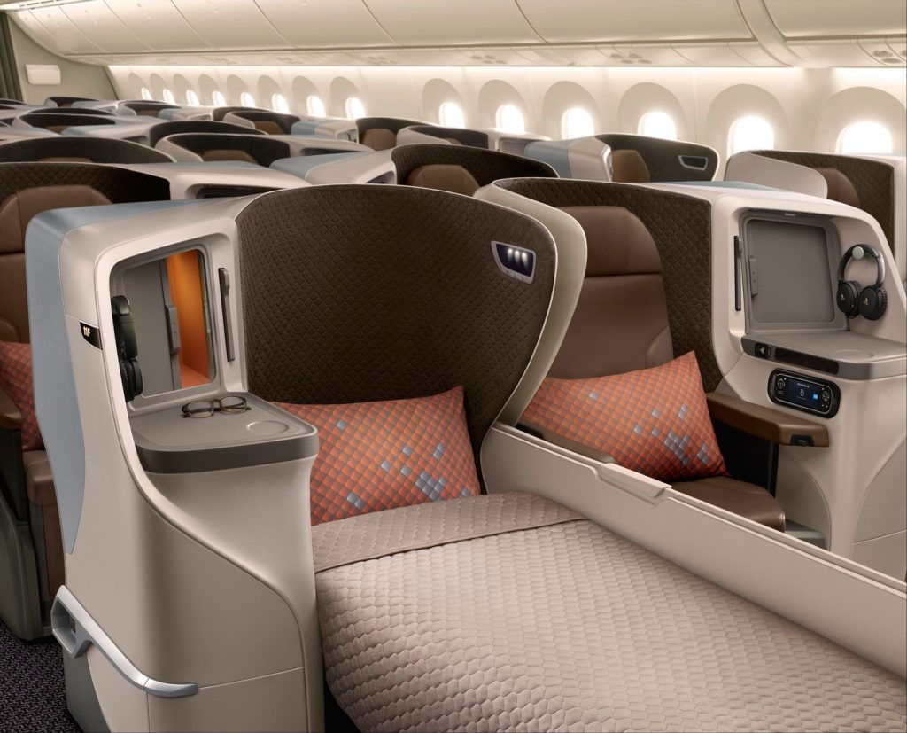 Singapore Airlines A350-900 Business Class New | Point Hacks