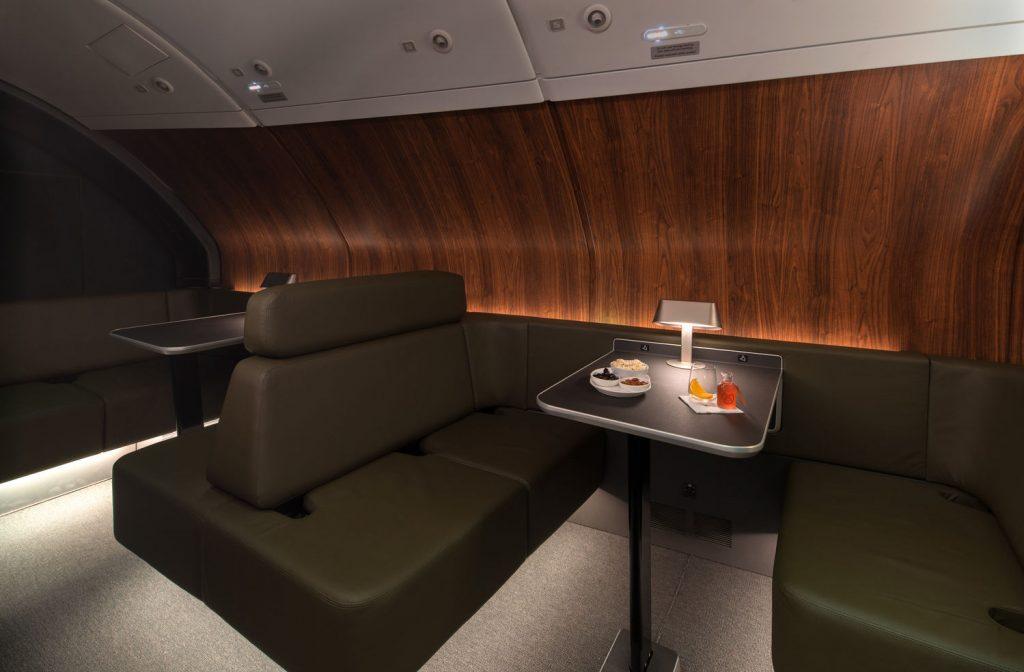 Qantas new A380 lounge