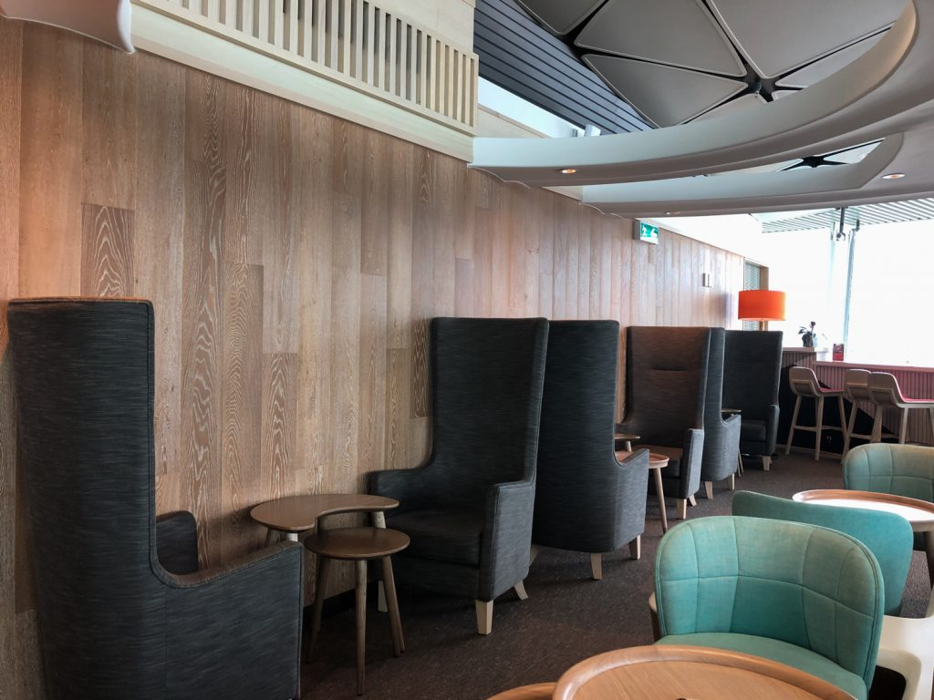 Club Autus Lounge Hong Kong seating area