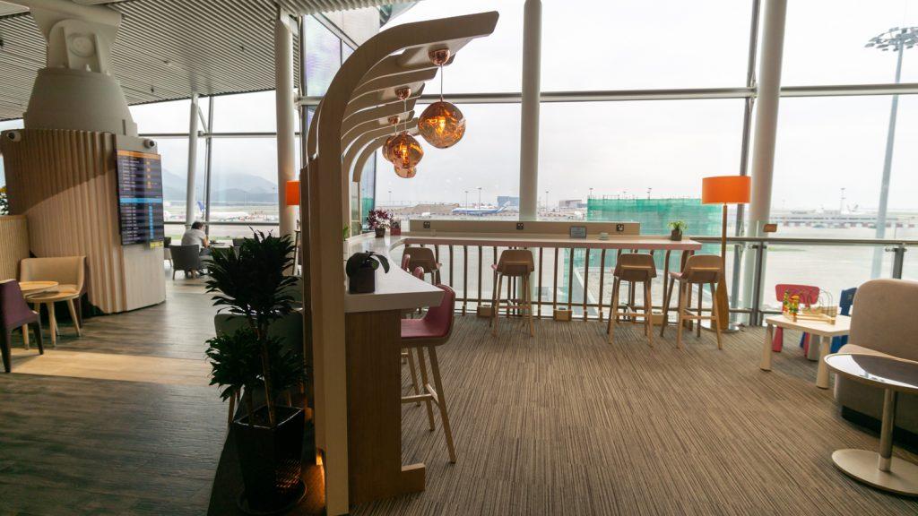 Club Autus Lounge Hong Kong seating
