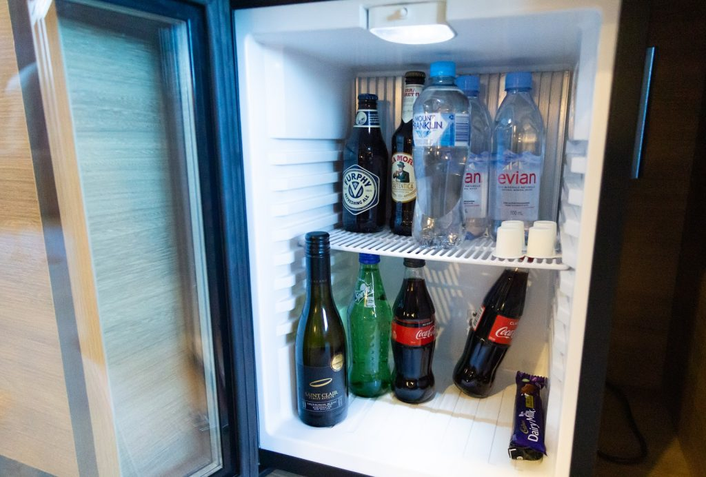 Novotel Melbourne Central Deluxe King mini bar