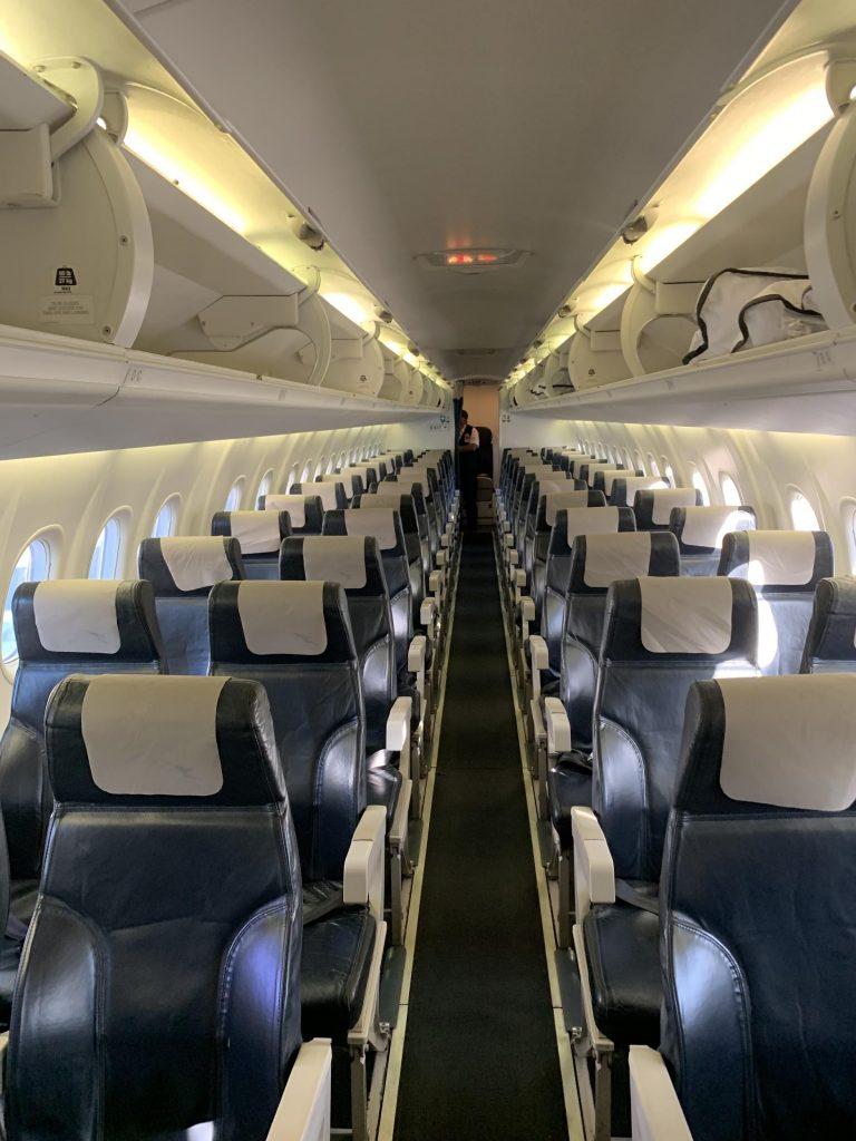QantasLink Dash 8-Q400 cabin