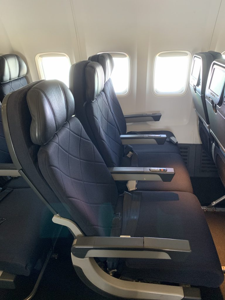 Qantas 737-800 seats