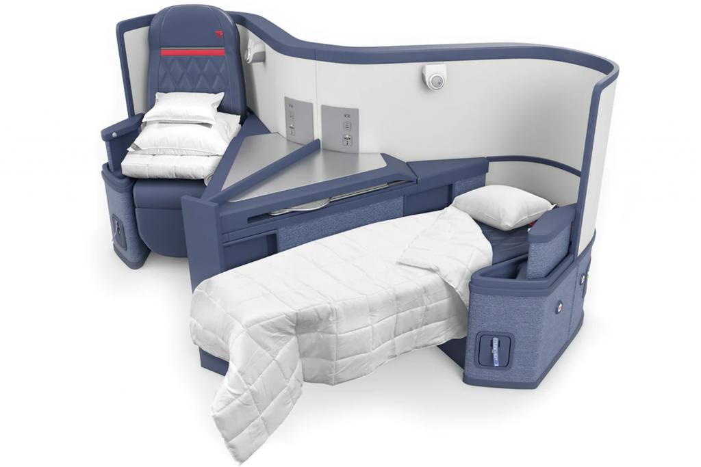 Delta 767 Business Class