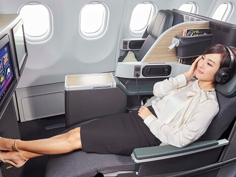 EVA Air A330 Business Class