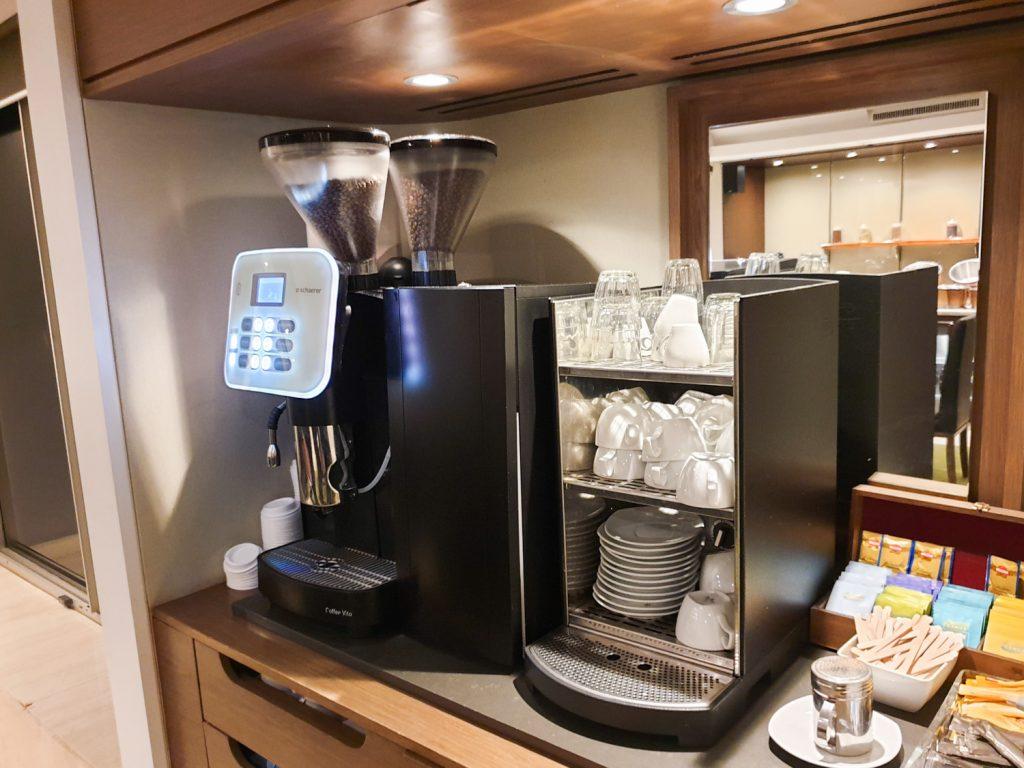 Melbourne Marriott Hotel Executive Lounge Coffee