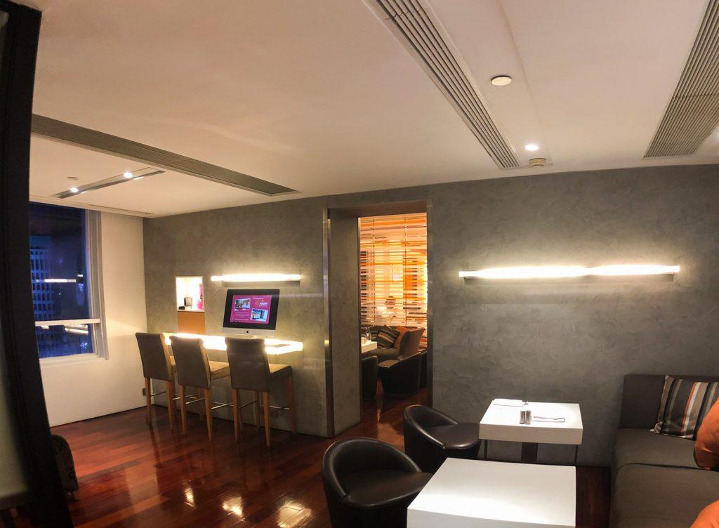 Novotel Century Hong Kong Premier Club Lounge
